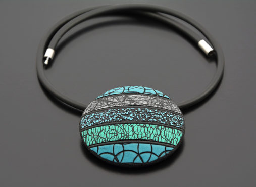rocno-delo-unikatna-verizica-ogrlica-mozaik-turkiz-unika-nakit