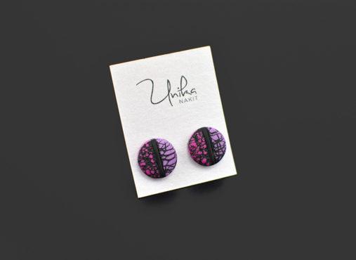 unikatni-uhani-pink-viola-unika-nakit